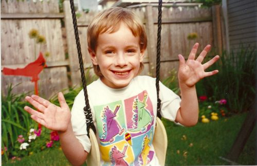 HJ swing set-Dino shirt 1995