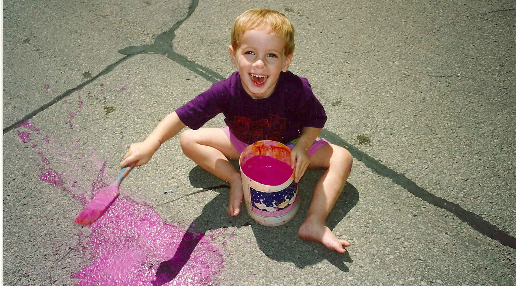 HJ pink street paint 1993 VERT CROP