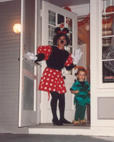 Minnie Mouse & Peter Pan 1992