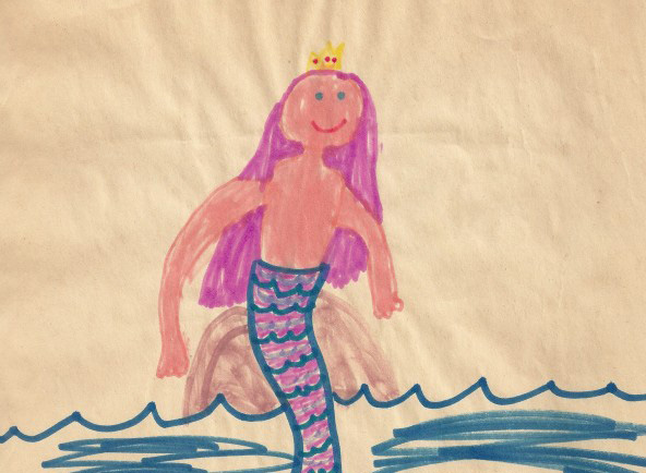 Mermaid-pink-hair-topless-tn