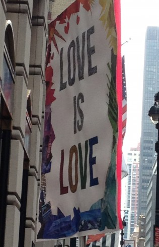 Love is Love Banner Pride Parade