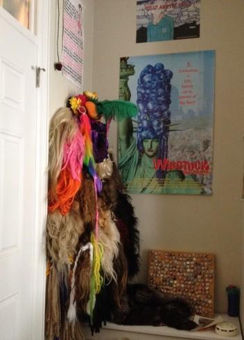 HJ Wall of Wigs