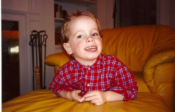 Harry, age 2, had lots of questions.
