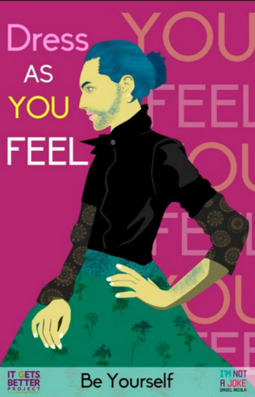 The BETTERMedia Illustrations Project highlights important issues facing LGBT youth worldwide.