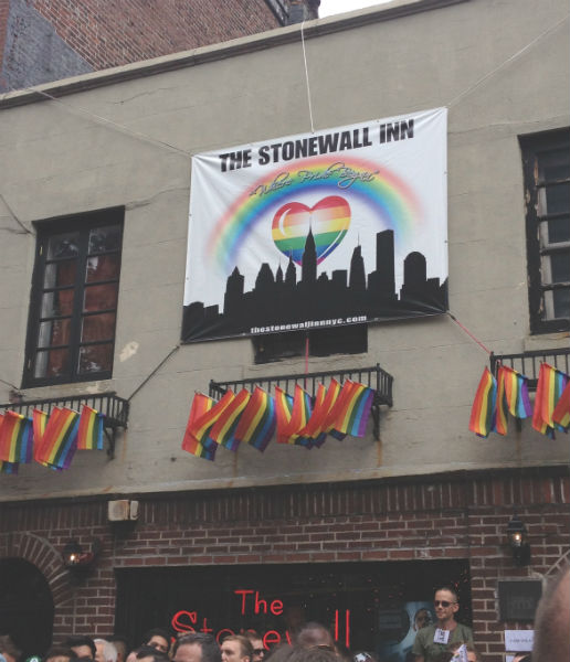 "The landmark Stonewall Inn: ""Where Pride Began"""