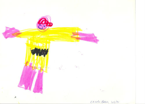 Portrait of Charlie Brown, by Harry, 1994