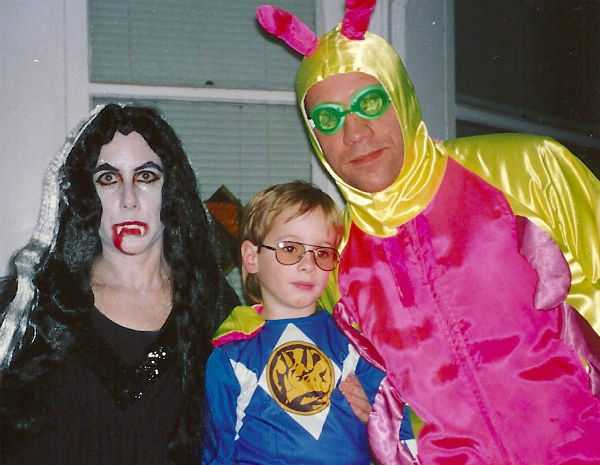 Me, Harry & the pink caterpillar, 1994.