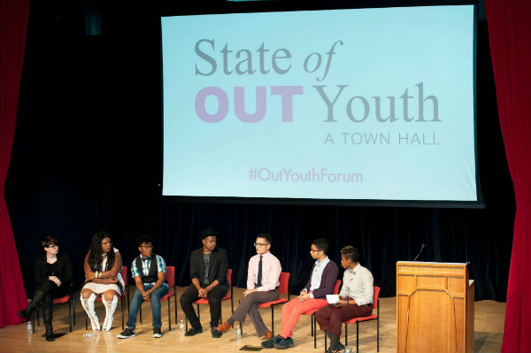 #OutYouthForum in NYC, 10-27-14