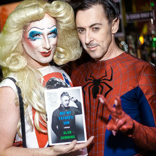Hedwig & Spiderman, Halloween 2014. (Photo by Austin Green)