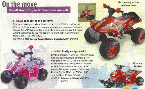 Skymall cruiser toys 2014 SIZED