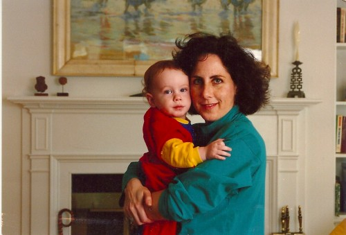 Harry and me, Winter 1991.