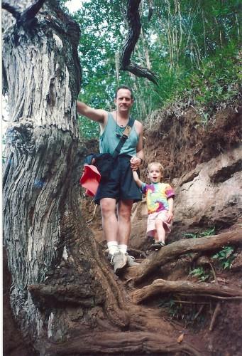 HJ& Ken Hawaii walk 1994
