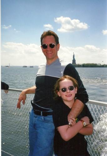 HJ& Ken NYC ferry 1998