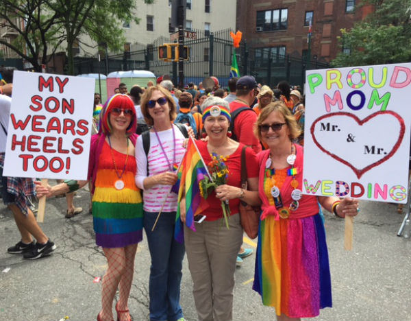 My NYC Pride 2015 Parade posse.