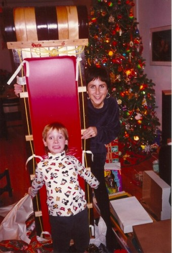 Harry, me & the toboggan, 1995