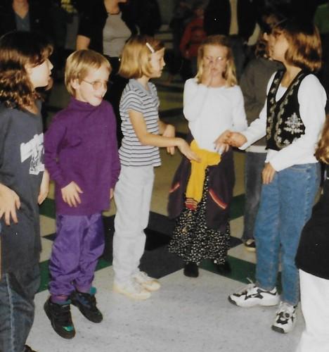 Harry at the school dance, 1996