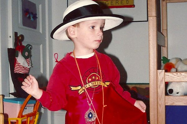 My toddler was a gender rebel.