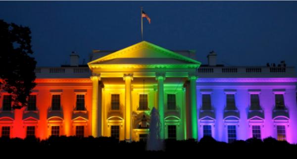 white-house-rainbow-lights